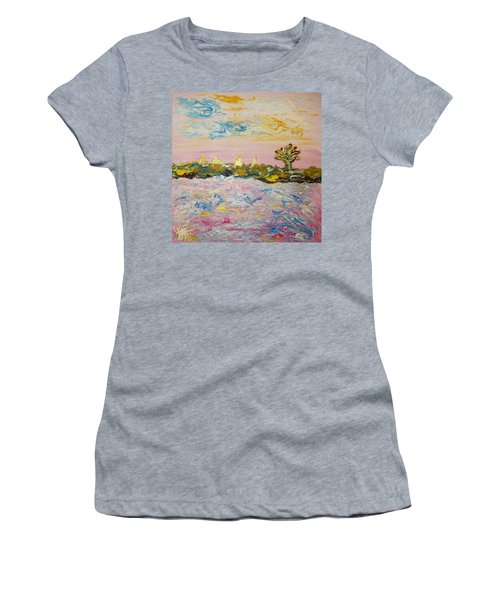 In The World Of Illusions Women's T-Shirt (Athletic Fit)