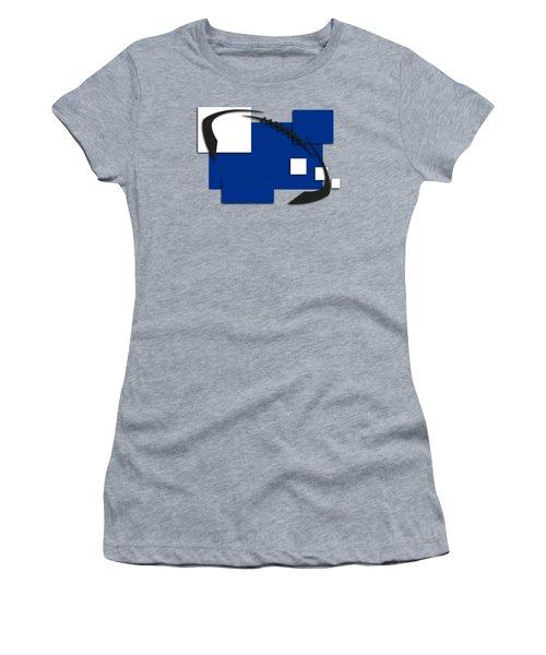 Indianapolis Colts Abstract Shirt Women's T-Shirt (Junior Cut) by Joe Hamilton