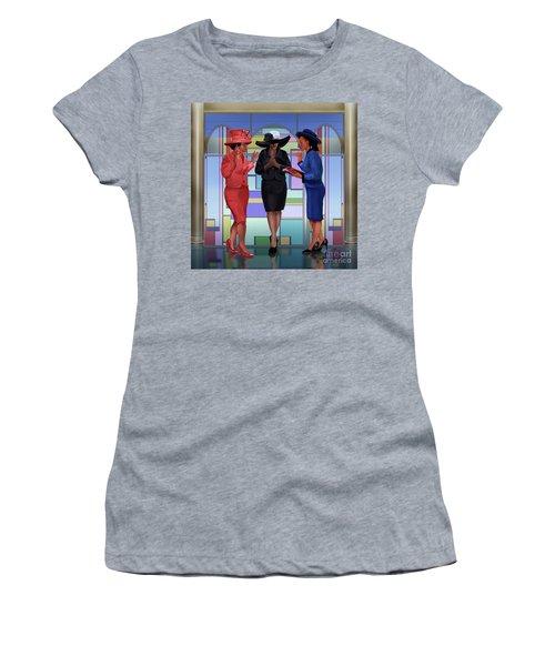 Interceding On A Sunday Morning Women's T-Shirt