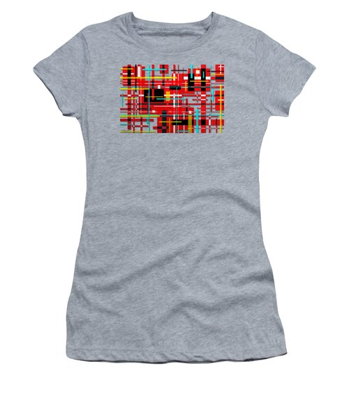 Intersection Women's T-Shirt (Junior Cut) by Shawna Rowe
