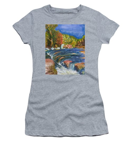 Into Slide Rock Women's T-Shirt