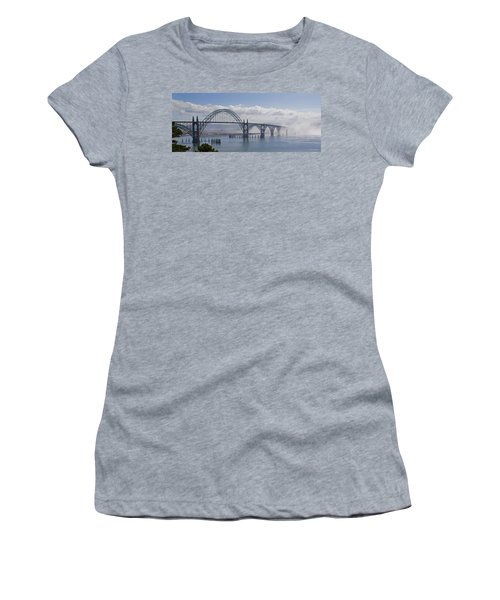 Into The Fog At Newport Women's T-Shirt (Athletic Fit)