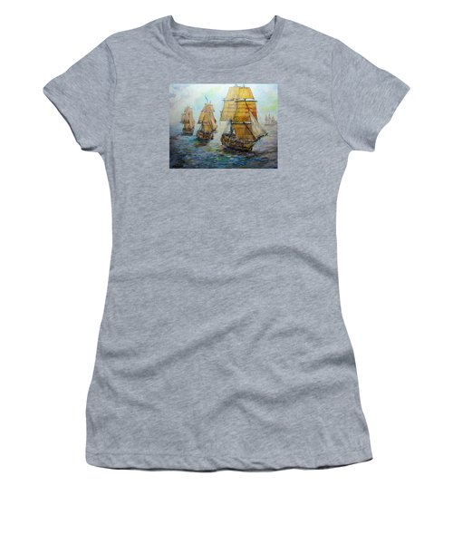 Into The Mediterranean Women's T-Shirt (Athletic Fit)