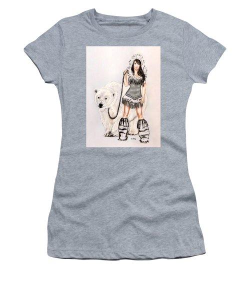 Inuit Pin-up Girl Women's T-Shirt