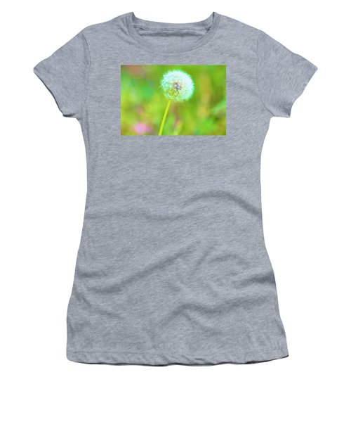 Iridescent Glow Women's T-Shirt (Athletic Fit)