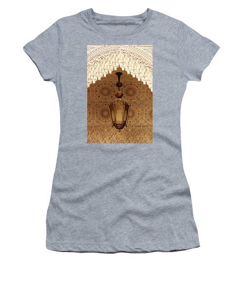 Islamic Plasterwork Women's T-Shirt (Athletic Fit)