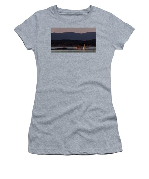 Isolated Lighthouse Women's T-Shirt (Athletic Fit)