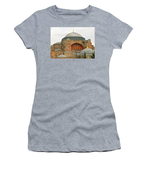 Women's T-Shirt (Junior Cut) featuring the photograph Istanbul Dome by Munir Alawi