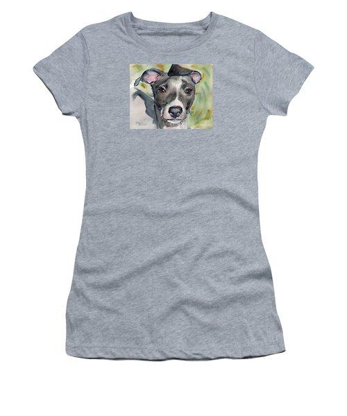 Italian Greyhound Watercolor Women's T-Shirt