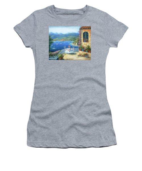 Italian Lunch On The Terrace Women's T-Shirt