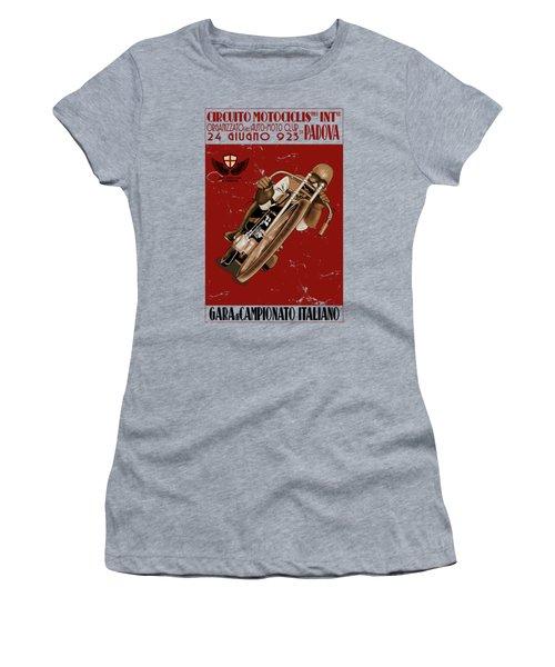 Italian Motorcycle Championship Race Women's T-Shirt