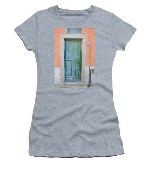 Italy - Door Five Women's T-Shirt (Athletic Fit)