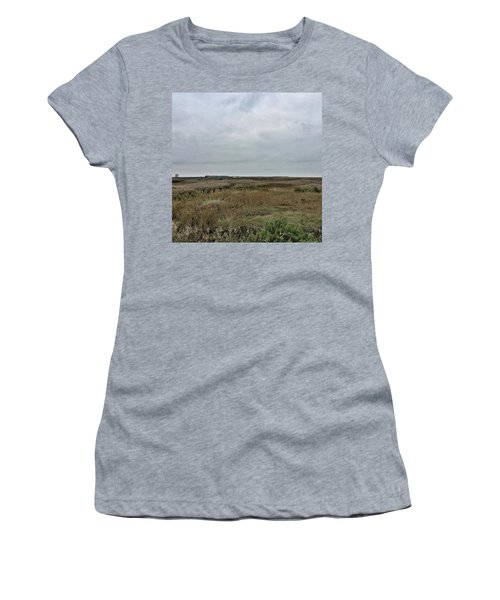 It's A Grey Day In North Norfolk Today Women's T-Shirt
