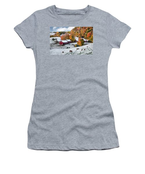 Jenne Farm, Reading, Vt Women's T-Shirt