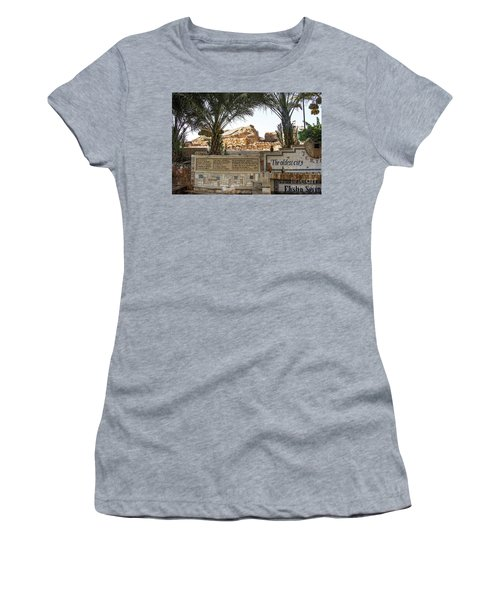 Women's T-Shirt featuring the photograph Jerico by Mae Wertz