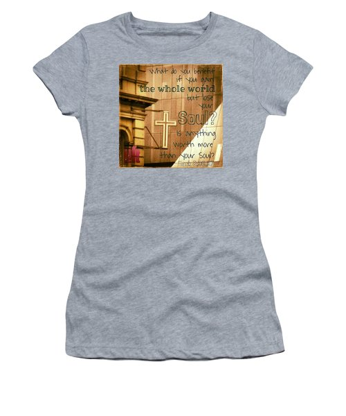 Jesus And His Disciples Left Galilee Women's T-Shirt