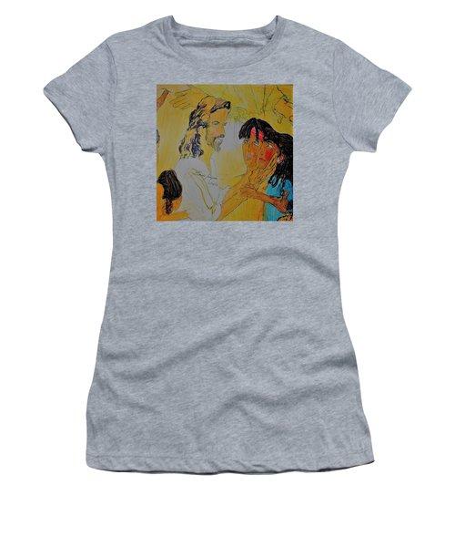 Jesus And The Children Women's T-Shirt