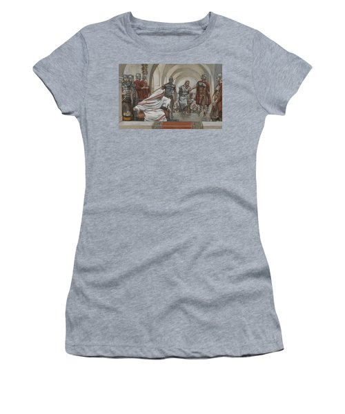 Jesus Led From Herod To Pilate Women's T-Shirt