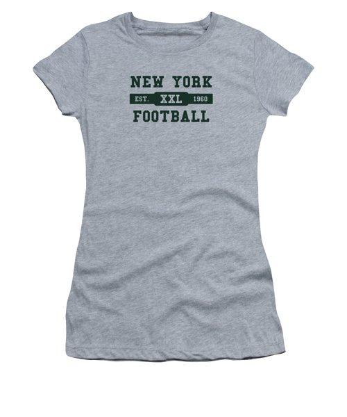 Jets Retro Shirt Women's T-Shirt (Junior Cut) by Joe Hamilton