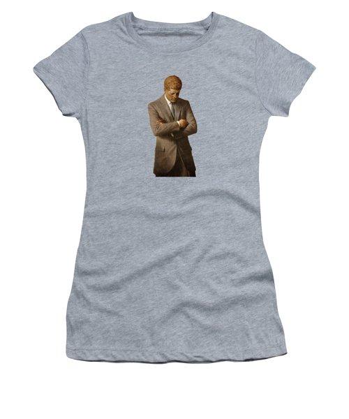 John F Kennedy Women's T-Shirt (Junior Cut) by War Is Hell Store