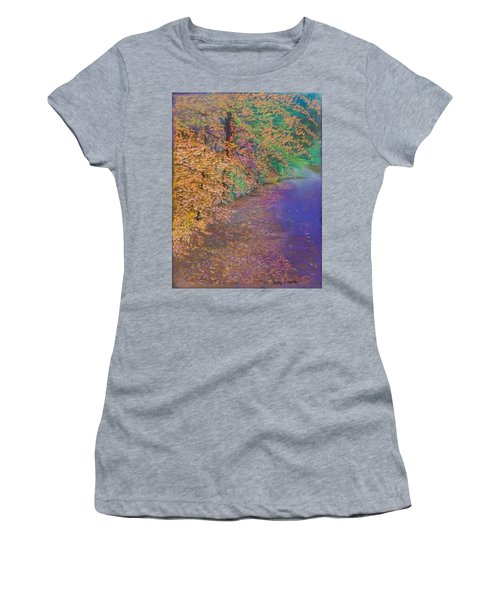 John's Pond In The Fall Women's T-Shirt
