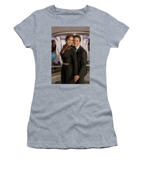 Julio Y Dianita Women's T-Shirt (Athletic Fit)