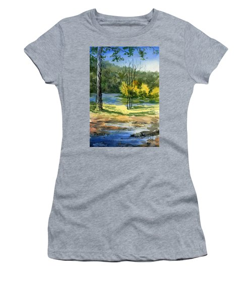 Junction Of White And Spring Rivers Women's T-Shirt (Athletic Fit)