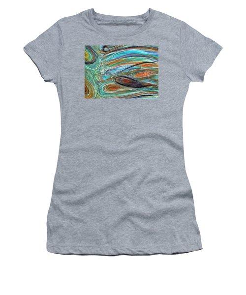 Jupiter Explored - An Abstract Interpretation Of The Giant Planet Women's T-Shirt