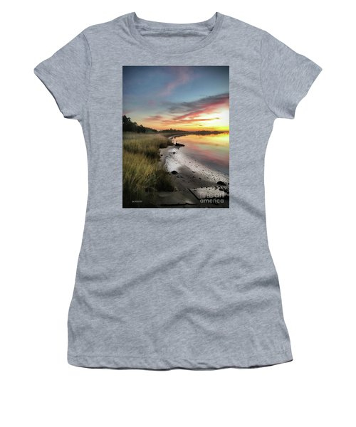 Just The Two Of Us At Sunset Women's T-Shirt (Athletic Fit)