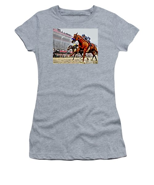 Justify Wins Preakness Women's T-Shirt