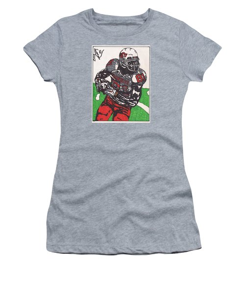 Justin Blackmon 2 Women's T-Shirt (Junior Cut) by Jeremiah Colley
