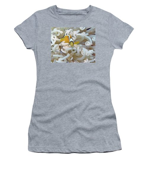 Juvenile Red Sea Clownfish, Eilat, Israel 3 Women's T-Shirt