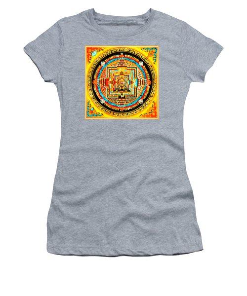 Kalachakra Mandala Women's T-Shirt (Athletic Fit)