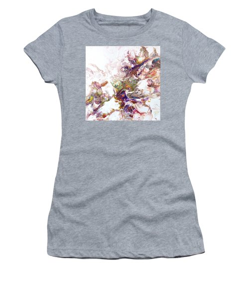 Kaleidescope Of Color Women's T-Shirt (Athletic Fit)