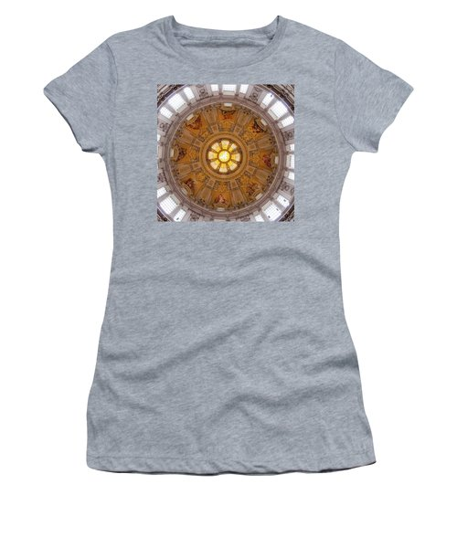 Women's T-Shirt (Athletic Fit) featuring the photograph Kaleidome  by Geoff Smith