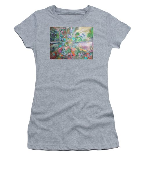 Kaleidoscope Fairies Too Women's T-Shirt (Junior Cut) by Judith Desrosiers