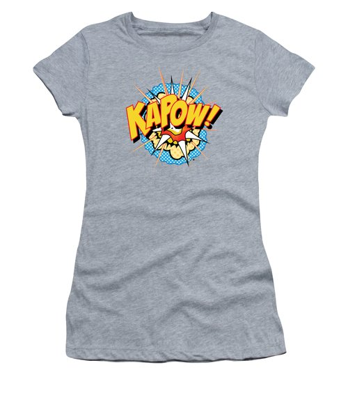 Kapow Women's T-Shirt (Athletic Fit)