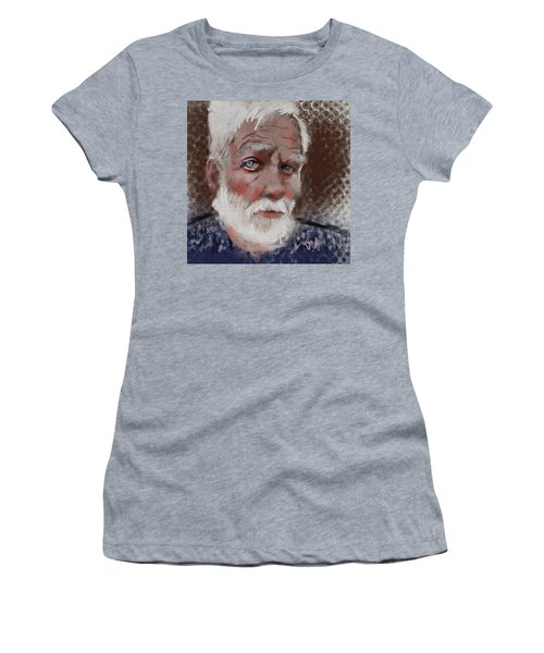Women's T-Shirt (Junior Cut) featuring the painting Kare by Jim Vance