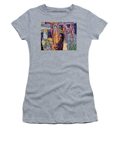 Kathy's Octopuses  Women's T-Shirt (Junior Cut) by Robert SORENSEN