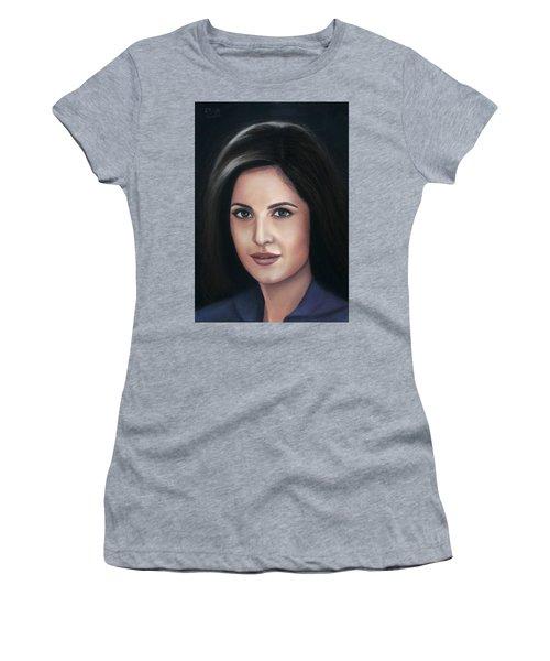 Katrina Kaif - Pastel Women's T-Shirt (Athletic Fit)