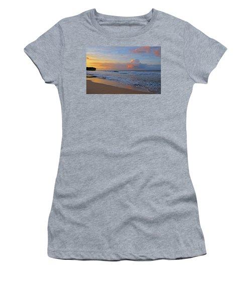 Kauai Morning Light Women's T-Shirt (Athletic Fit)