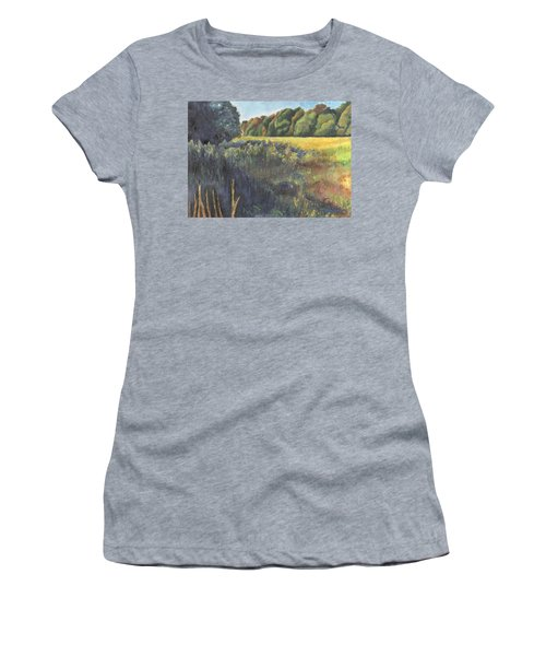 Keep On The Sunny Side Women's T-Shirt (Athletic Fit)