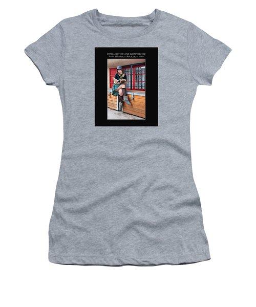 Kellie Peach 2-45 Women's T-Shirt (Athletic Fit)