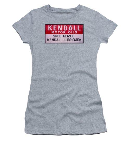 Kendall Motor Oils Sign Women's T-Shirt