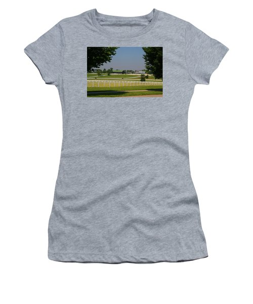 Kentucky Horse Park Women's T-Shirt (Athletic Fit)