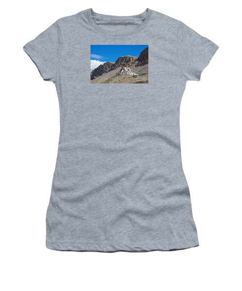 Women's T-Shirt (Athletic Fit) featuring the photograph Key Monastery by Yew Kwang