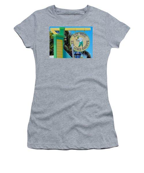 Key West Key Lime Shoppe Women's T-Shirt (Athletic Fit)