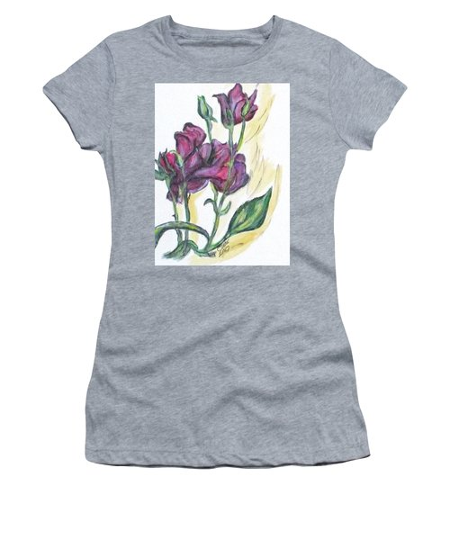 Kimberly's Spring Flower Women's T-Shirt (Junior Cut) by Clyde J Kell
