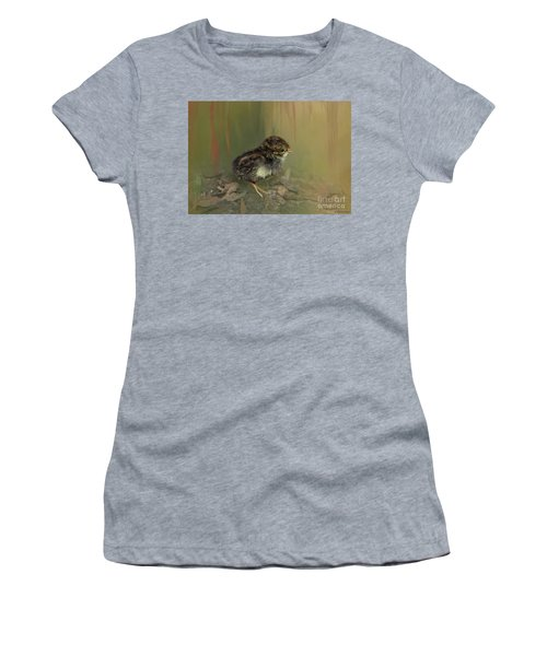 King Quail Chick Women's T-Shirt (Athletic Fit)