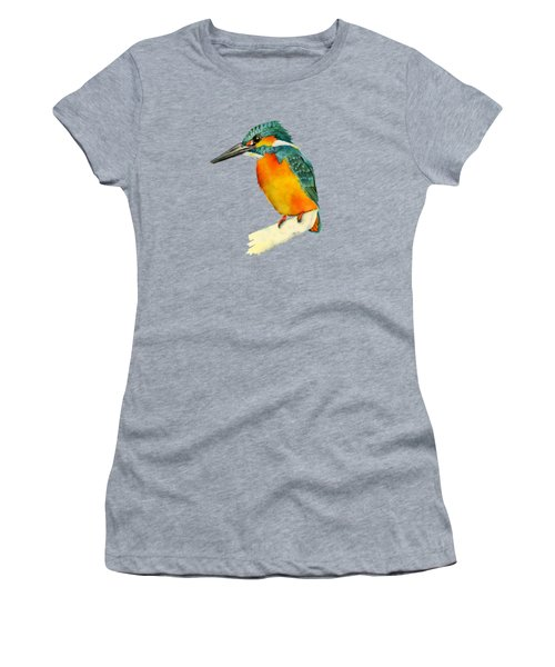Kingfisher Bird  Women's T-Shirt (Athletic Fit)